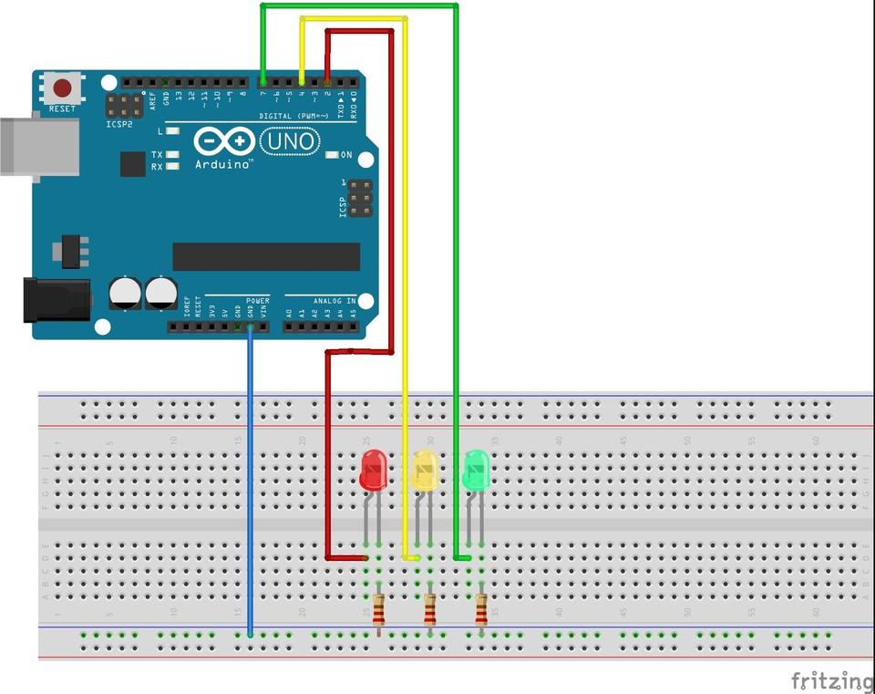 Imagen 8 en Tutorial Arduino: Ejemplo Semáforo