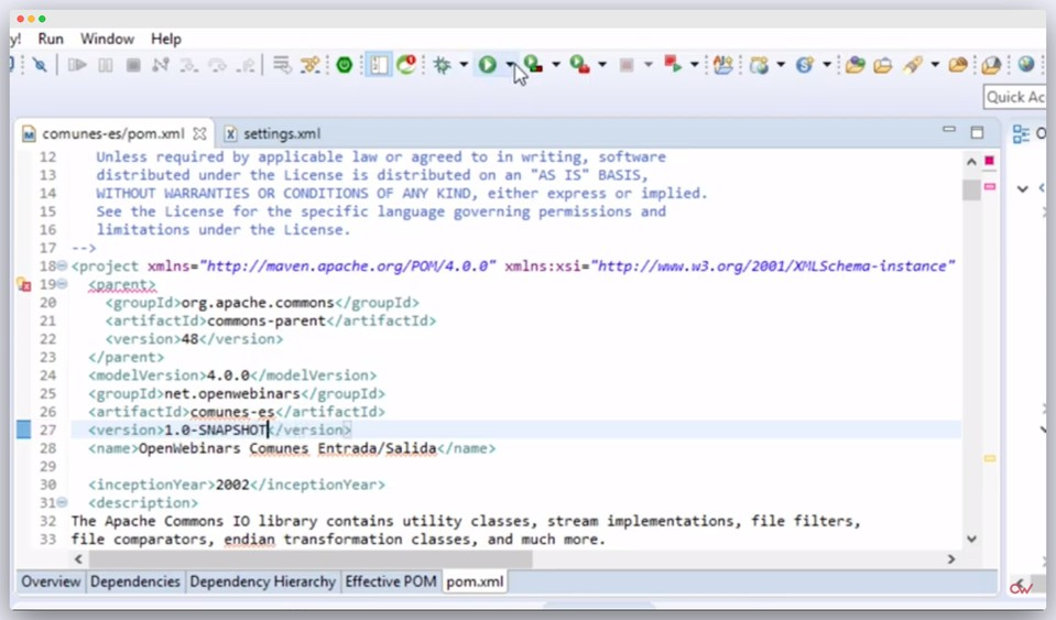 Imagen 2 en ¿Cómo desplegar librerías en Apache Maven con Artifactory?
