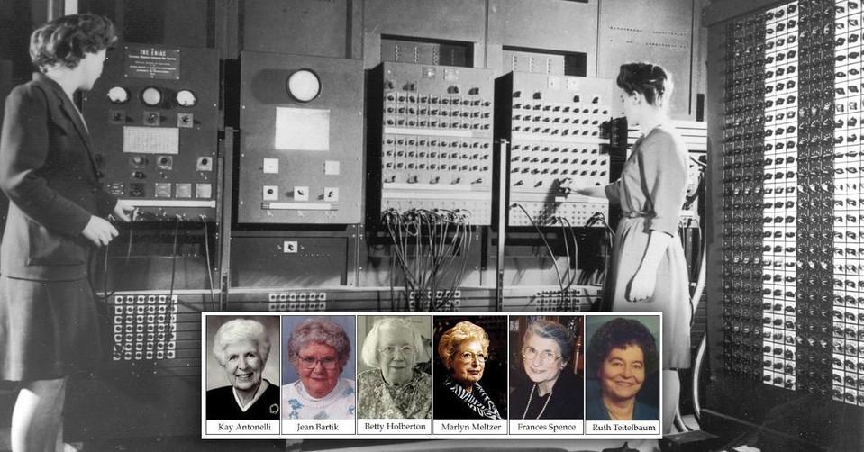 El primer ordenador electrónico fue programado por 6 mujeres