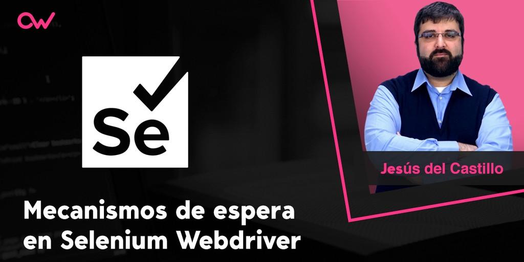 Mecanismos de espera en Selenium Webdriver