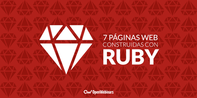 7 páginas web construidas con Ruby