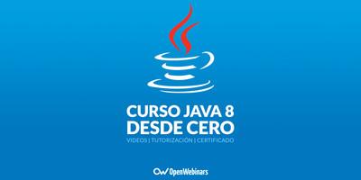 Curso de Java 8 desde cero