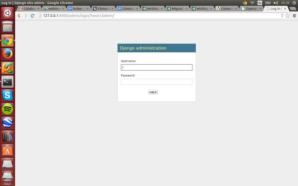 Imagen 1 en Tutorial de Django: Cómo iniciar una aplicación con Django