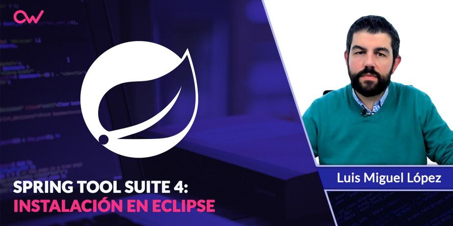 Descarga e instalación de Spring Tools Suite sobre Eclipse