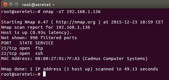 Imagen 27 en Nmap, uso básico para rastreo de puertos