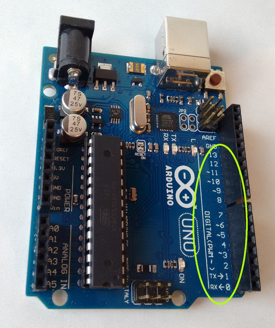 Imagen 1 en Tutorial Arduino: Salidas