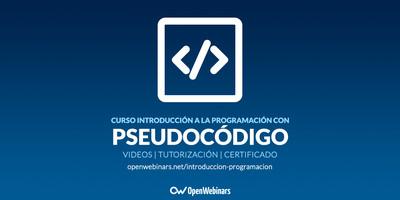 Curso de Introducción a la programación con Pseudocódigo