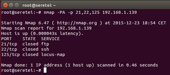 Imagen 24 en Nmap, uso básico para rastreo de puertos