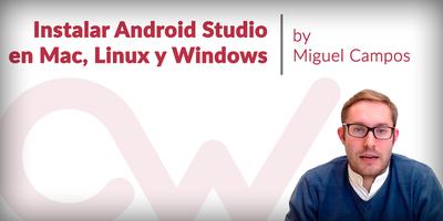 Cómo instalar Android Studio