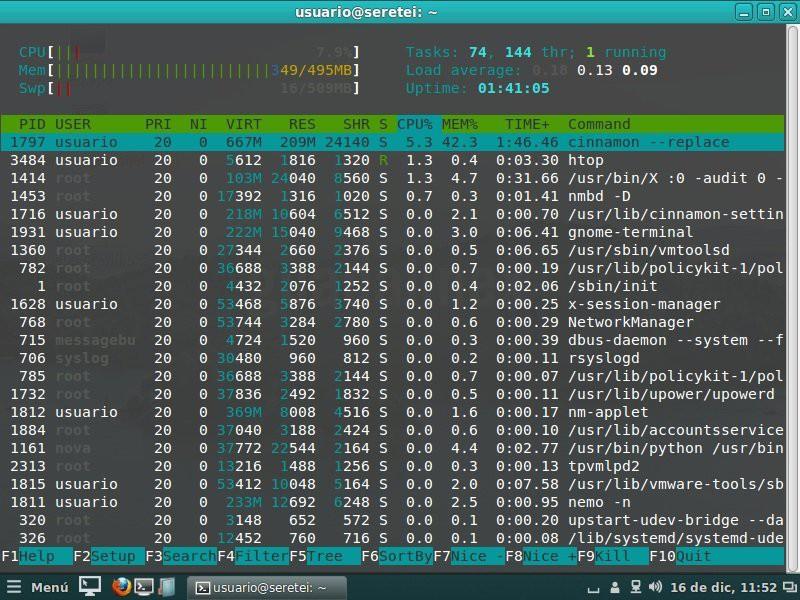 Imagen 13 en 20 comandos para administrar y gestionar facilmente los procesos en Linux