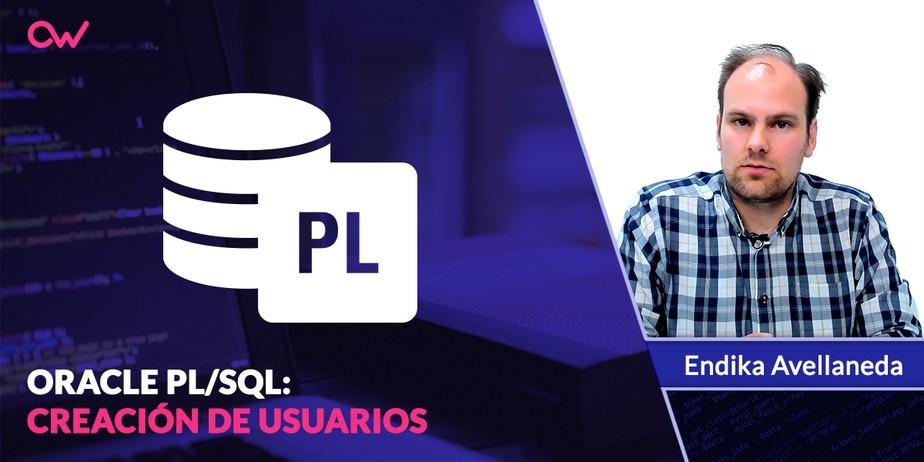 Creación de usuarios en PL/SQL