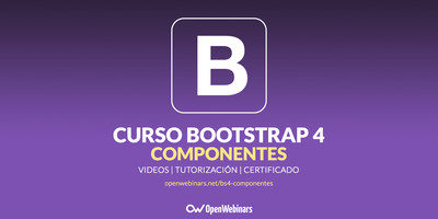 Bootstrap 4: Componentes