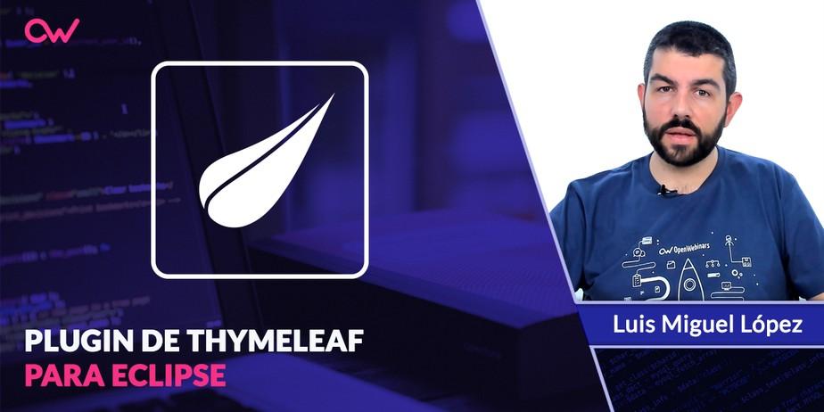 Cómo instalar el plugin de Thymeleaf en Eclipse