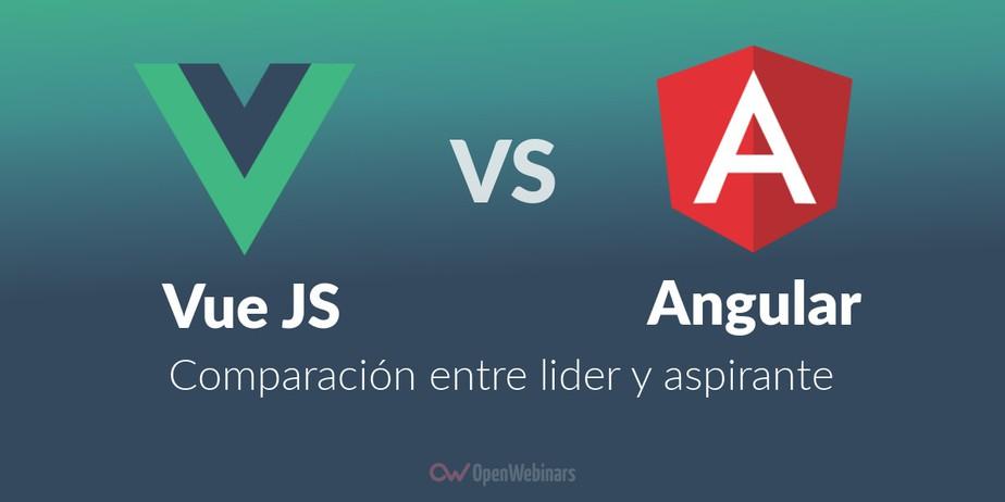 Vue JS vs Angular: comparación entre líder y aspirante