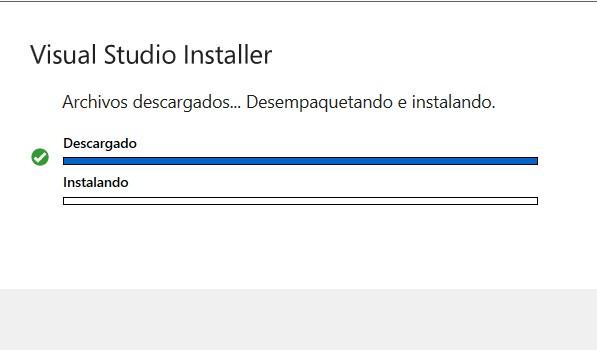 Instalación Visual Studio