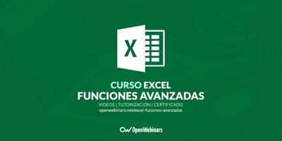 Curso de Excel: Funciones avanzadas