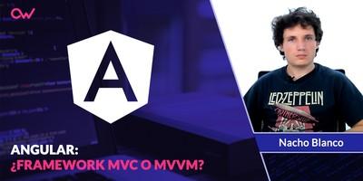 ¿Qué patron usa Angular? MVC  o MVVM