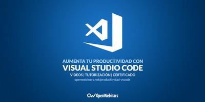Aumenta tu productividad con Visual Studio Code