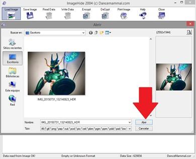 Imagen 1 en Hacking Tutorial: Como ocultar informacion en imagen