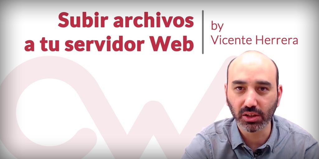 Cómo subir fotos, imágenes y otros archivos a un servidor web