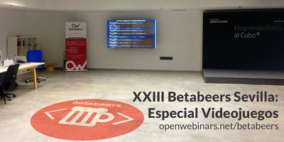 XXIII Betabeers Sevilla: Especial Videojuegos