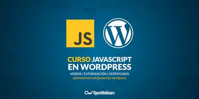 Curso de JavaScript en WordPress