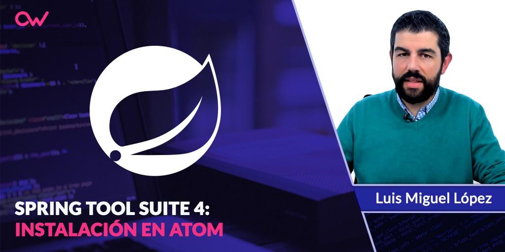 Descarga e instalación de Spring Tool Suite Atom