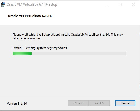Instalación VirtualBox