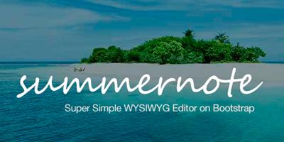 Para programadores Django: Summernote el editor WYSIWYG que te ahorrará tiempo