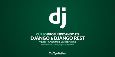Curso Profundizando en Django y Django REST