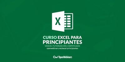 Curso de Excel para principiantes