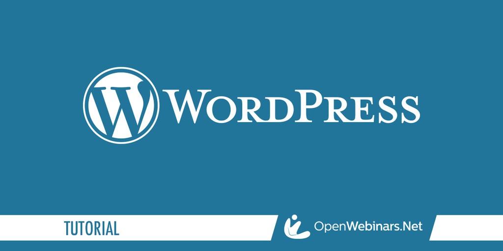 WordPress tutorial: Biblioteca de medios