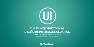 Curso de Introducción al diseño de interfaz de Usuarios (UI)