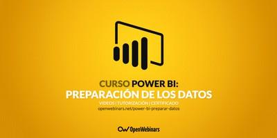 Curso de Power BI: Preparación de los datos