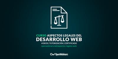 Aspectos legales del desarrollo web