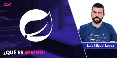 Qué es Spring framework