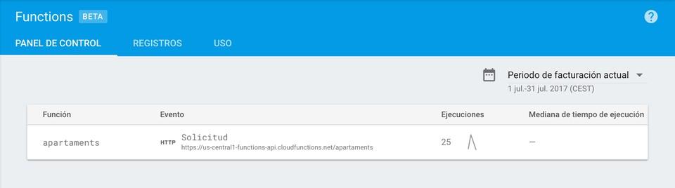 Imagen 1 en Construir API con Firebase Cloud functions