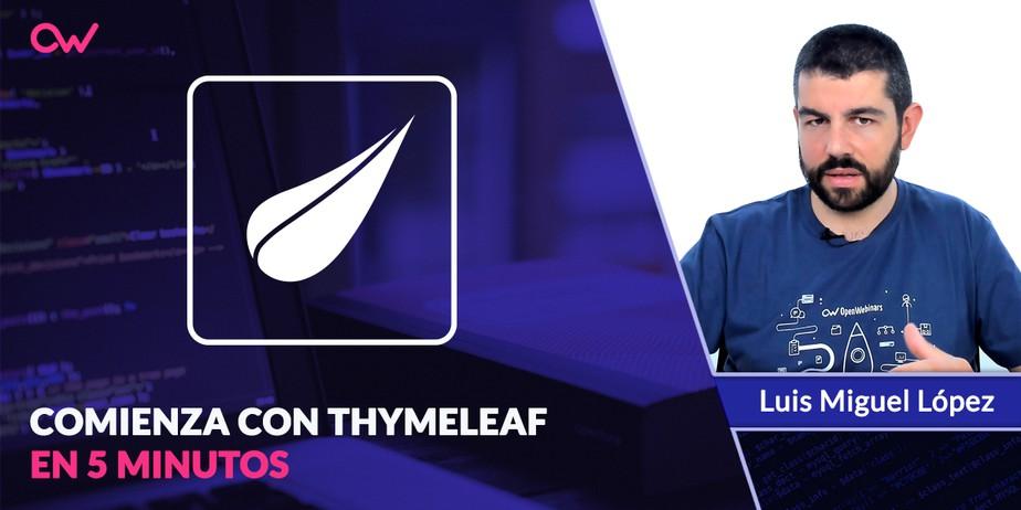Qué es Thymeleaf