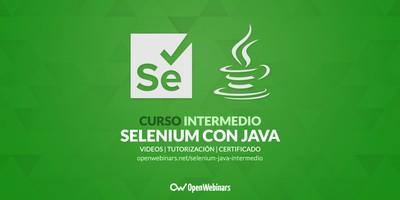 Curso de Selenium con Java intermedio