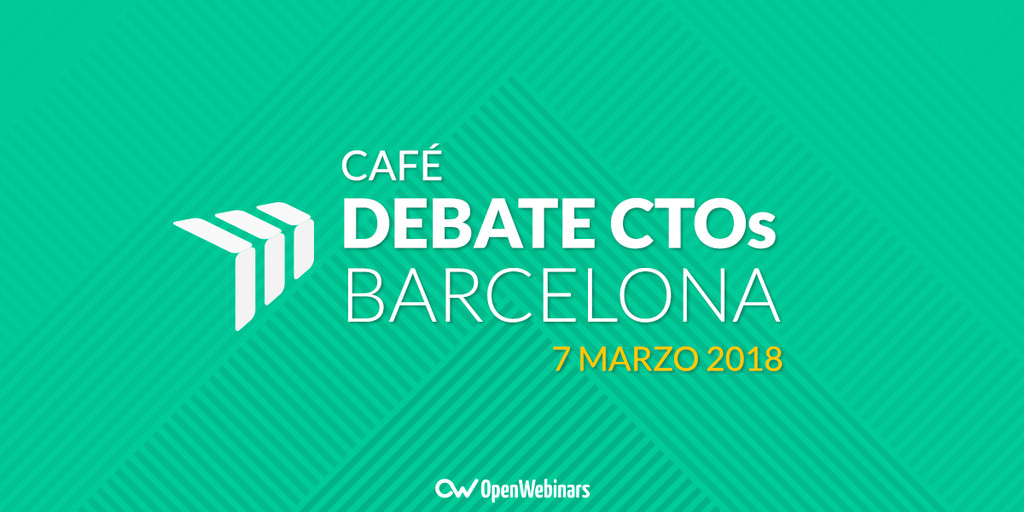 Café debate CTOs en Barcelona