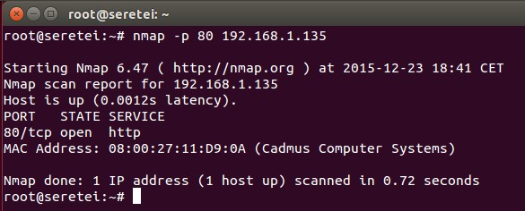 Imagen 17 en Nmap, uso básico para rastreo de puertos