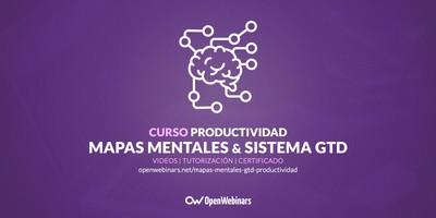 Curso de mapas mentales y GTD para una productividad inteligente