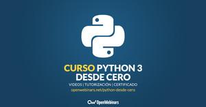 Curso de Python 3 desde cero