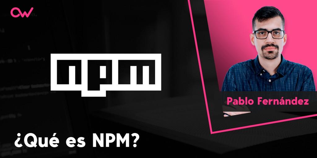 Qué es npm