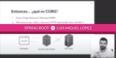 Cómo configurar CORS en mi API Rest con Spring Boot