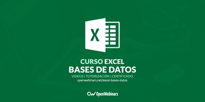 Curso de Excel: Bases de datos
