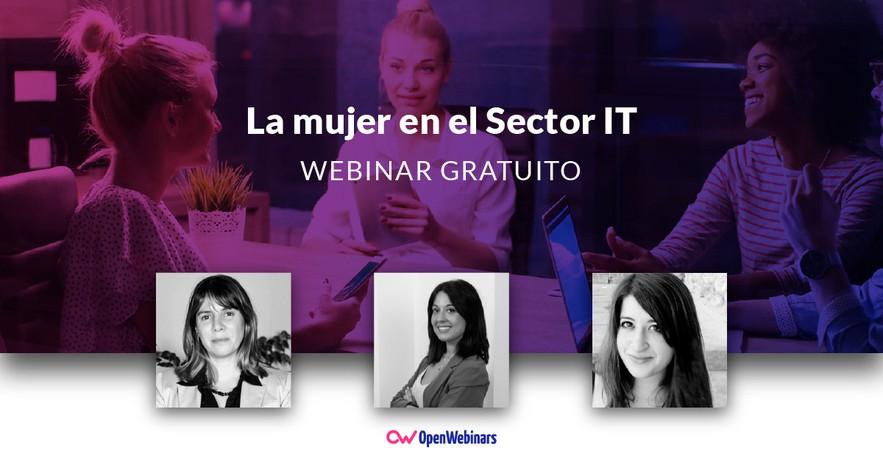 Webinar: La Mujer en el Sector IT