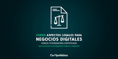 Curso de aspectos legales para negocios digitales