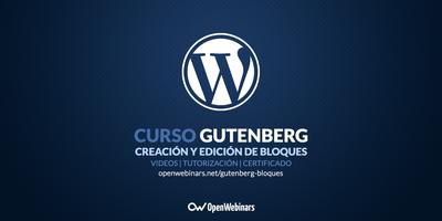 Curso de Gutenberg: creación y edición de bloques