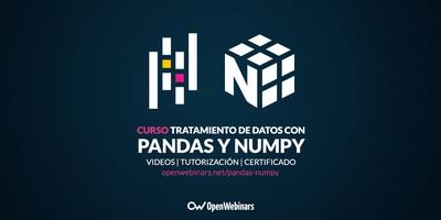 Curso de tratamiento de datos con Pandas y NumPy